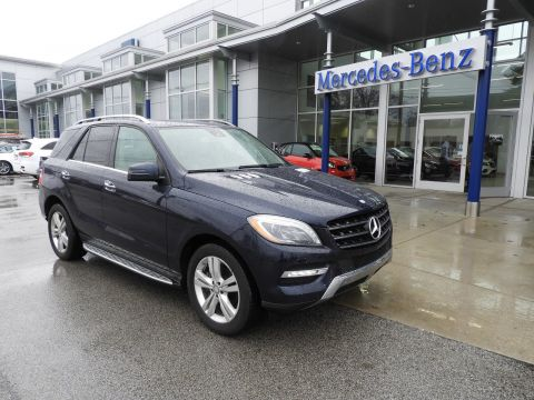 Certified Pre-Owned 2015 Mercedes-Benz ML 250 BlueTEC® SUV AWD 4MATIC®