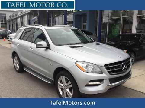 Certified Pre-Owned 2012 Mercedes-Benz M-Class ML 350 4MATIC® SUV