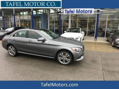 New 2017 Mercedes-Benz C 300 4MATIC® Luxury Sedan