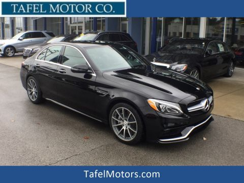 New 2018 Mercedes-Benz C 63 AMG® Sedan RWD 4dr Car