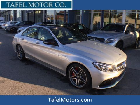 New 2018 Mercedes-Benz C-Class AMG® C 63 S Sedan RWD 4dr Car