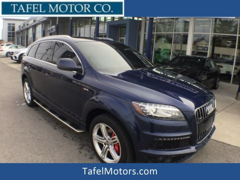 Pre-Owned 2012 Audi Q7 3.0T S Line SUV