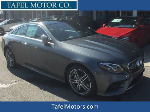 New 2018 Mercedes-Benz E 400 4MATIC® Coupe