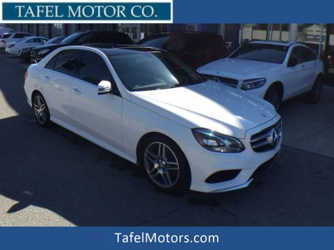 Certified Pre-Owned 2015 Mercedes-Benz E 350 4MATIC® Sport Sedan