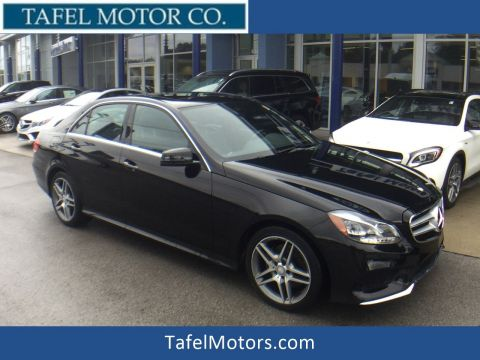 Certified Pre-Owned 2014 Mercedes-Benz E 350 4MATIC® Sport Sedan