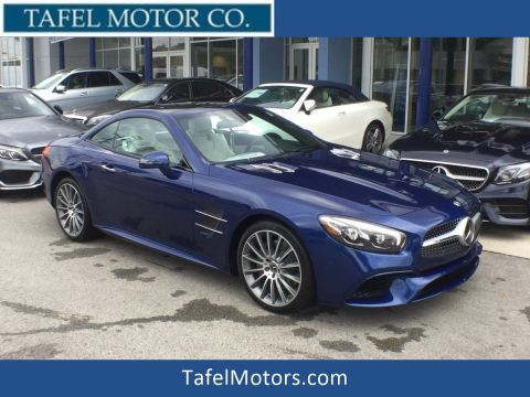 New 2018 Mercedes-Benz SL 550 Roadster with Navigation
