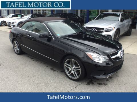 Certified Pre-Owned 2014 Mercedes-Benz E 350 Cabriolet RWD Convertible