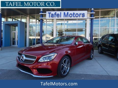 Certified Pre-Owned 2016 Mercedes-Benz CLS 400 4-Door Coupe with Navigation