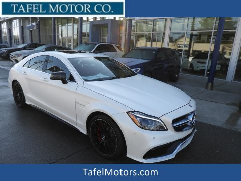 New 2017 Mercedes-Benz AMG® CLS 63 S 4-Door Coupe AWD 4MATIC®