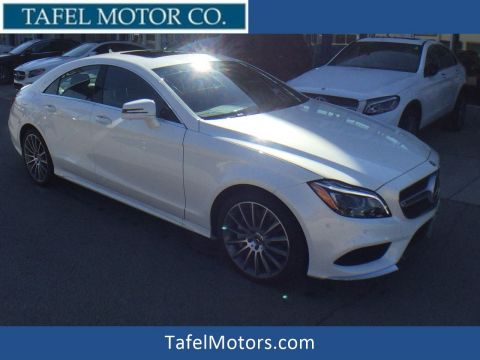 New 2018 Mercedes-Benz CLS 550 4MATIC® 4-Door Coupe with Navigation