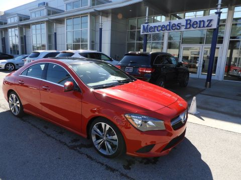 Pre-Owned 2016 Mercedes-Benz CLA 250 4MATIC® 4-Door Coupe