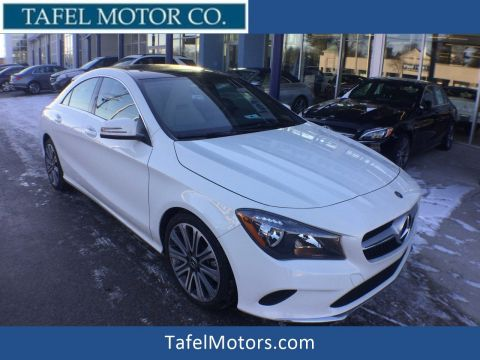 Pre-Owned 2018 Mercedes-Benz CLA 250 4MATIC® 4-Door Coupe