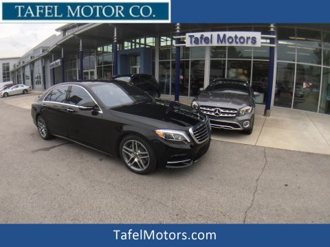 New 2017 Mercedes-Benz S 550 4MATIC® Sedan with Navigation