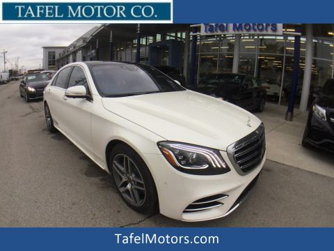 New 2018 Mercedes-Benz S 560 4MATIC® Sedan