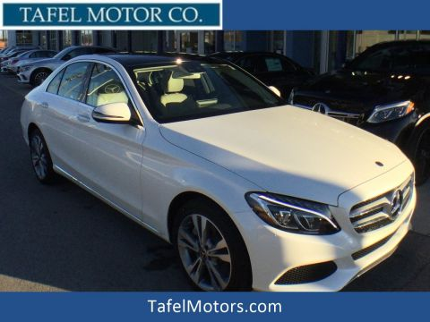 New 2018 Mercedes-Benz C 300 4MATIC® Sedan