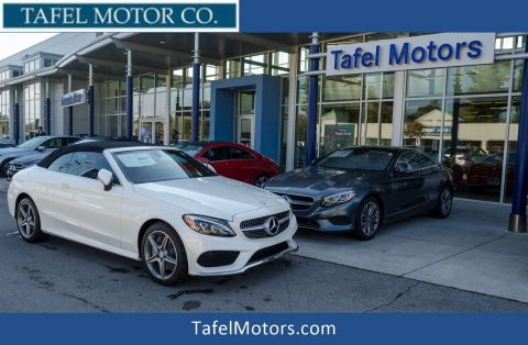 New 2017 Mercedes-Benz C 300 4MATIC® Cabriolet