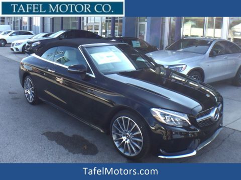 New 2018 Mercedes-Benz C 300 4MATIC® Cabriolet