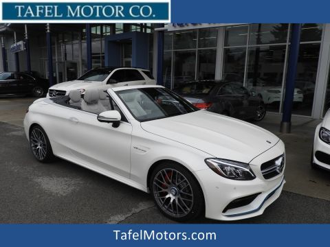 New 2018 Mercedes-Benz C 63 S AMG® Cabriolet RWD Convertible