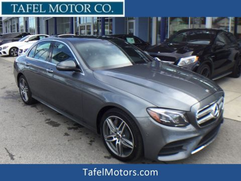 New 2018 Mercedes-Benz E 300 4MATIC® Line Exterior Sedan