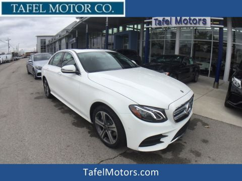 New 2018 Mercedes-Benz E 300 4MATIC® Sport Sedan
