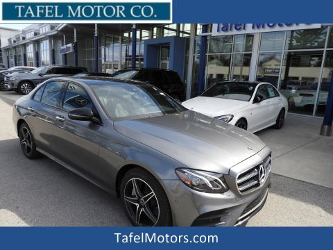New 2018 Mercedes-Benz E 400 4MATIC® Sedan