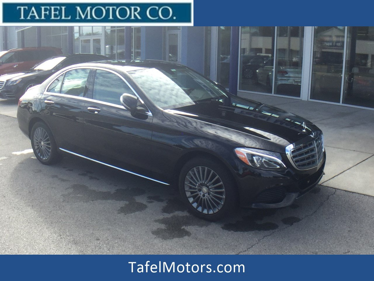 Certified Pre-Owned 2015 Mercedes-Benz C-Class C 300 4MATIC® Luxury Sedan