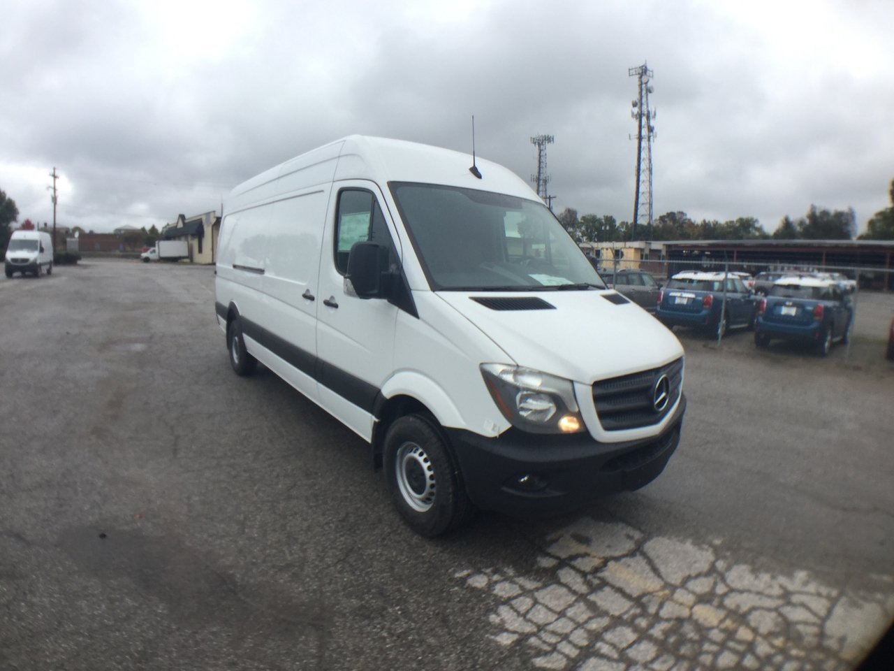 New 2017 Mercedes-Benz Sprinter Cargo Van 170 WB