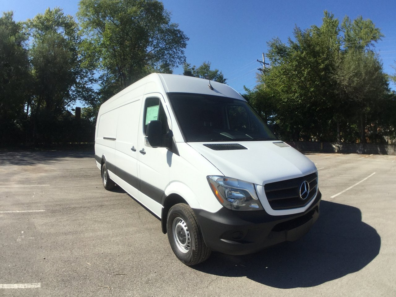 New 2017 Mercedes-Benz Sprinter Cargo Van 2500 170 WB EXT