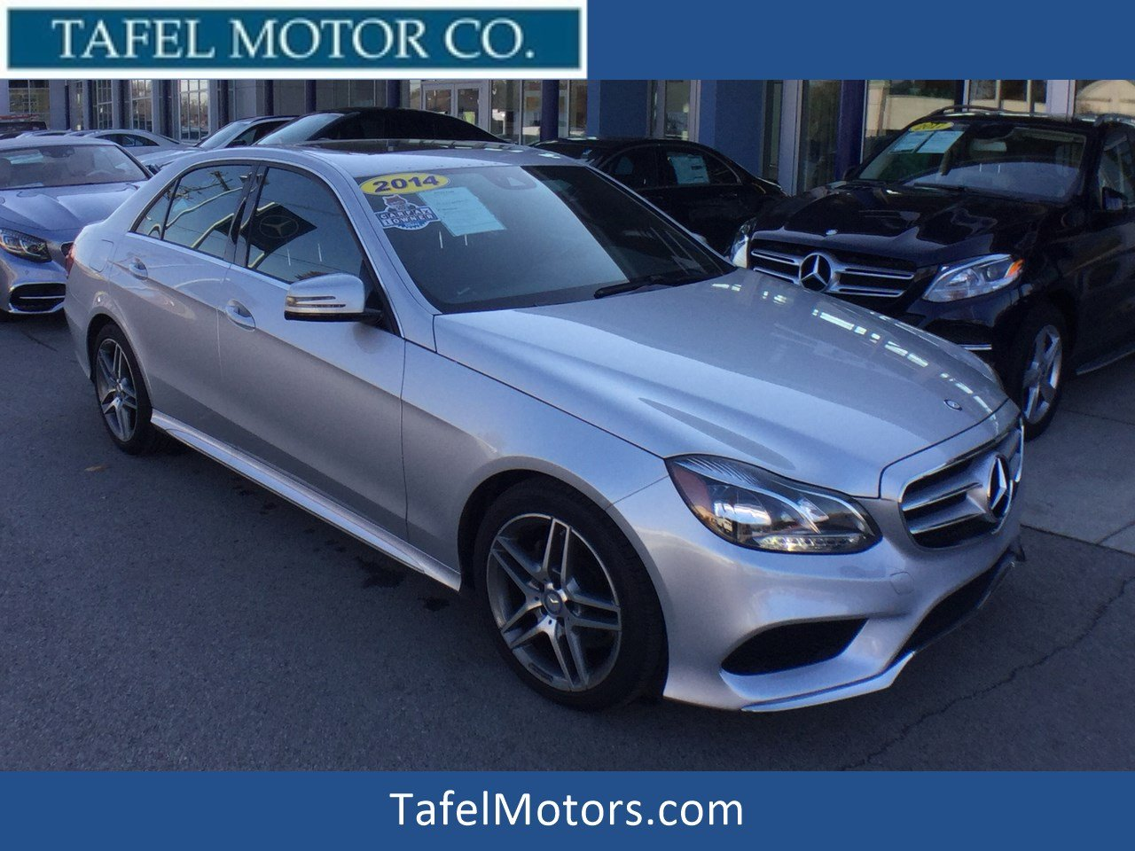 Certified Pre-Owned 2014 Mercedes-Benz E-Class E 350 4MATIC® Sport Sedan