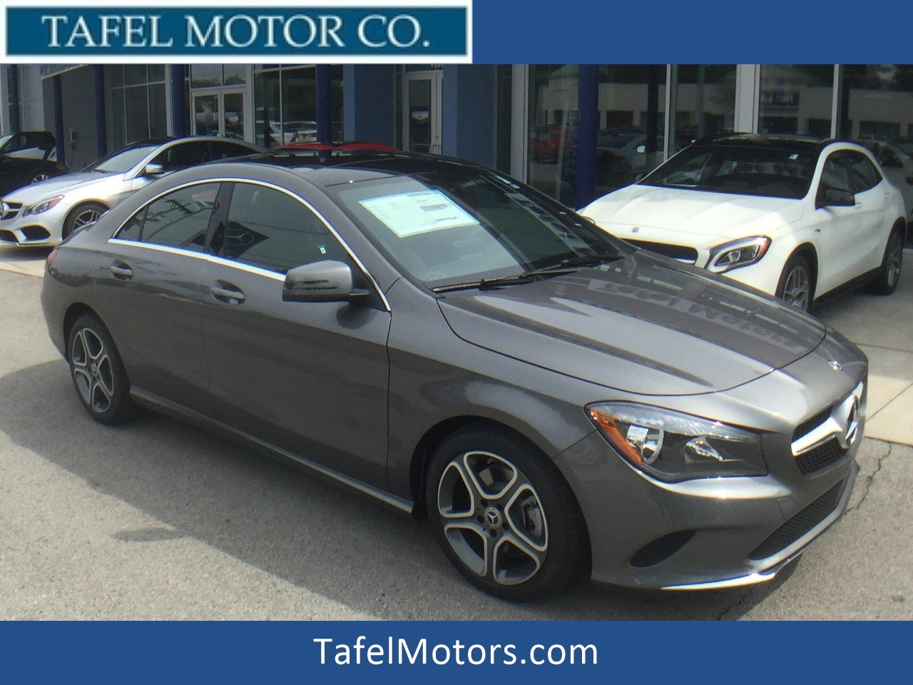 New 2018 Mercedes-Benz CLA CLA 250 4MATIC® 4-Door Coupe