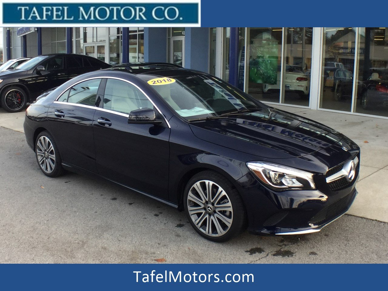 Pre-Owned 2018 Mercedes-Benz CLA CLA 250 4MATIC® 4-Door Coupe