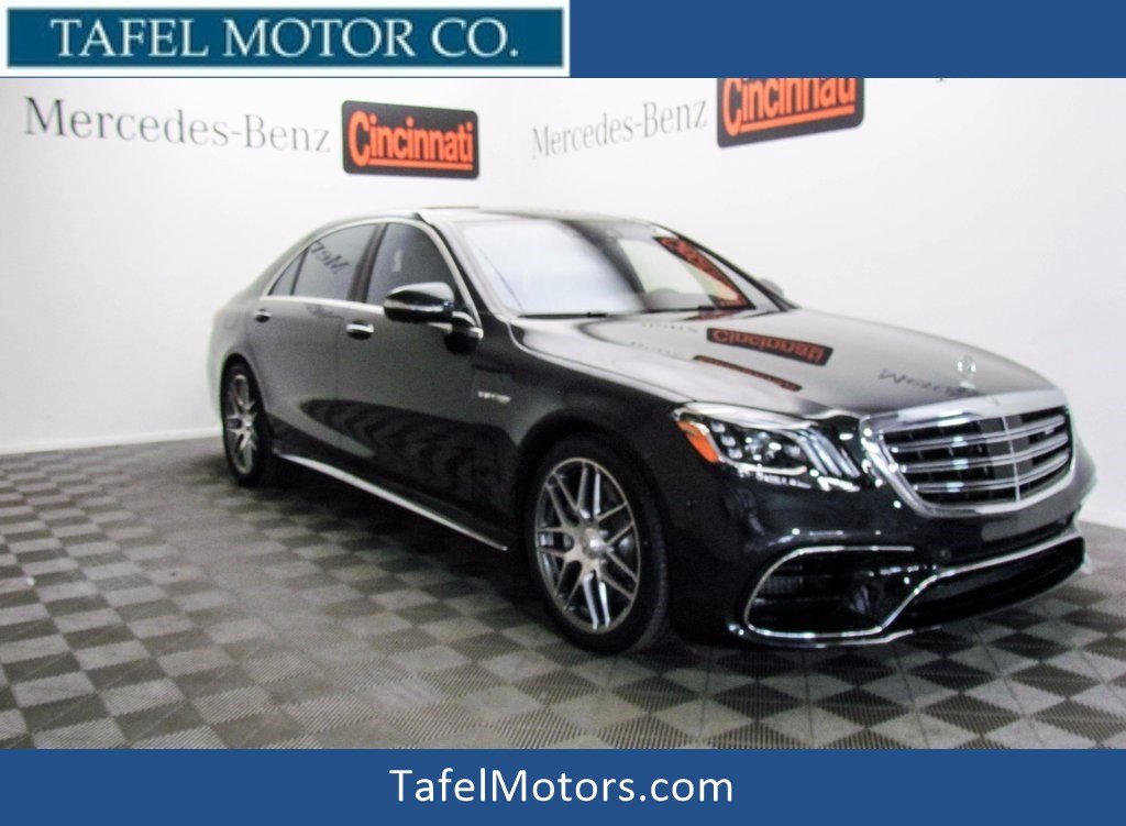 New 2018 mercedes benz s class s 63 amg 4matic sedan 4dr for 2018 mercedes benz s550