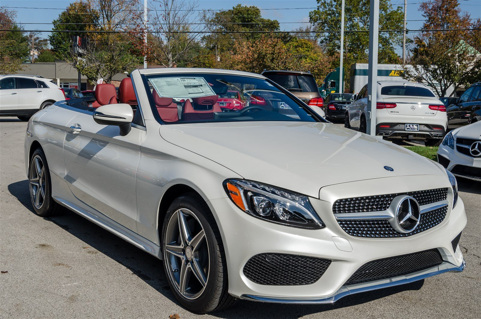 New 2017 mercedes benz c class c 300 4matic cabriolet for New mercedes benz convertible