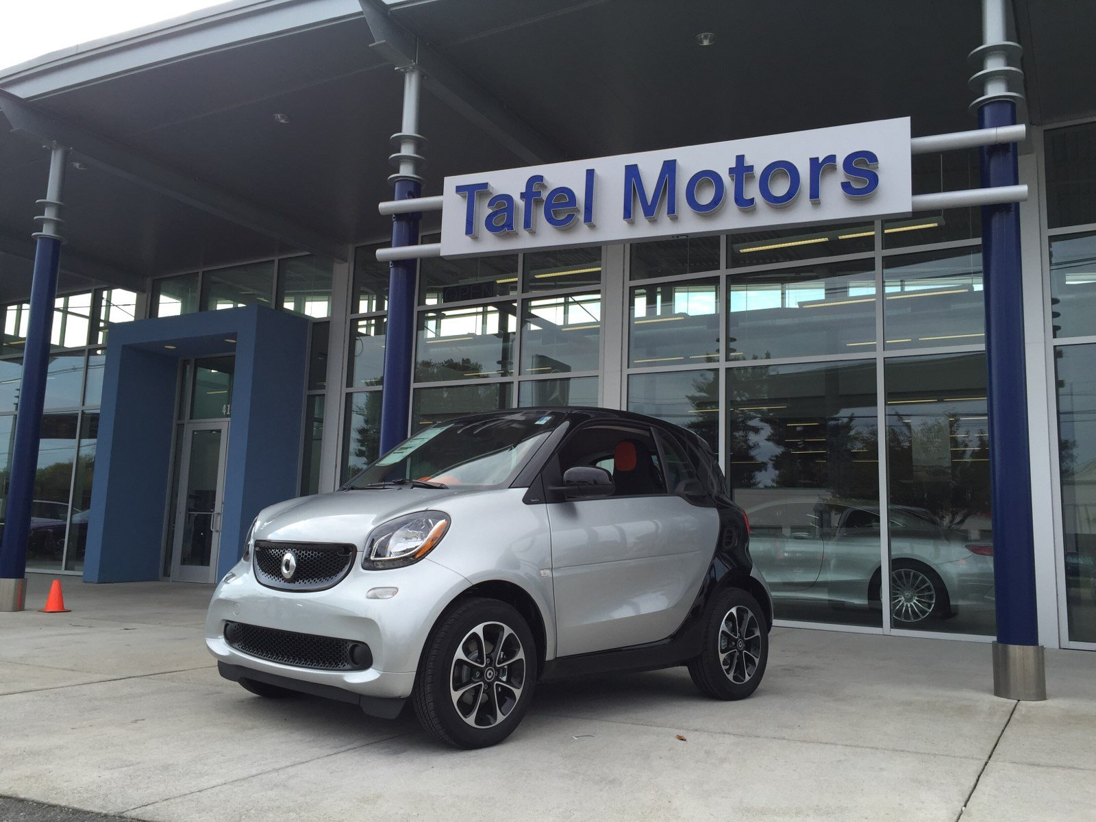 New 2016 Smart Fortwo Passion Coupe 2dr Car In Louisville